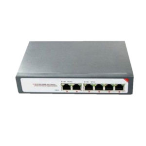 Gigabit POE Switch 6 Ports