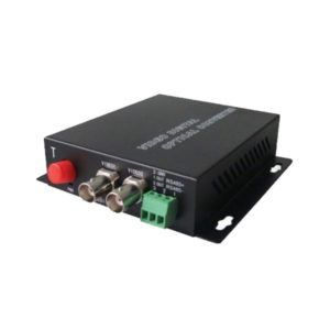 Fiber Optic Media Converter 2 Video 1 Data