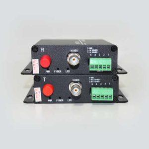 Fiber to HD-AHD รุ่น AHD-1V1D-T/RF 720P