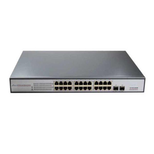 24-Port Full Gigabit Managed PoE Switch รุ่น ASIT-33024PFM
