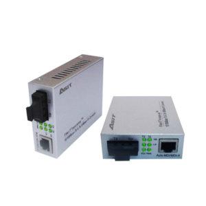 media converter ใช้งาน รุ่น ASIT-0110S-SCX
