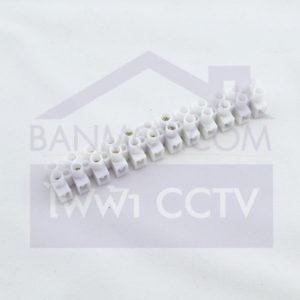 ขนาดลูกเต๋าต่อสายไฟราคา เต๋าต่อสาย ขนาด 6 มิล (สีขาว) พลาสติก PVC