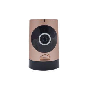 กล้องวงจรปิดไร้สาย IP (180 องศา)สีน้ำตาล รุ่น BM-WIFI180-AB