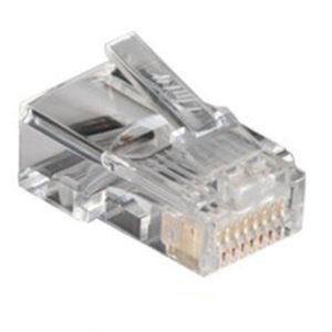 การ เข้า หัว สาย แลน Cat5E RJ45 PLUG (10PCS/PKG) Link