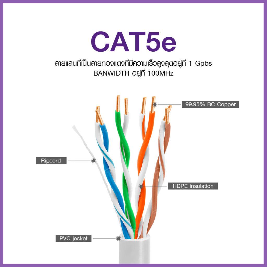 สายแลน Cat5e