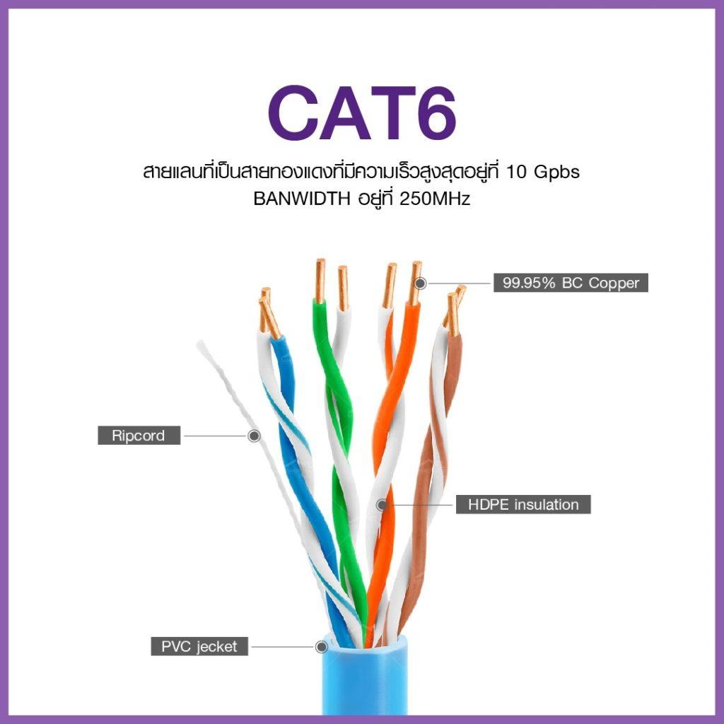 สายแลน Cat6