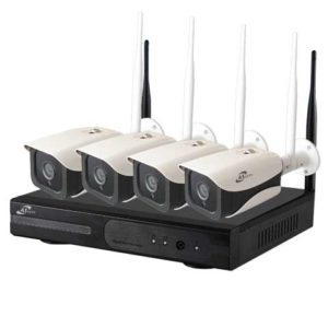 ชุด KIT Wireless IP รุ่น KIT-04M -1.3MP